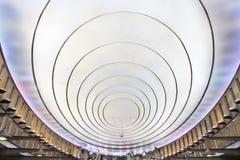 Modern metro station. Royalty Free Stock Photography