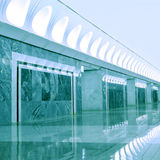 Modern metro station Royalty Free Stock Photography