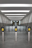 Modern metro station architecture perspective Stock Photos