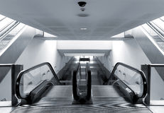 Modern metro station architecture perspective Royalty Free Stock Image