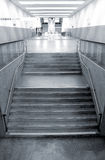 Modern metro station architecture perspective Stock Photo