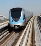 Modern Metro Train Royalty Free Stock Photos