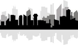 Modern metropolis Stock Image