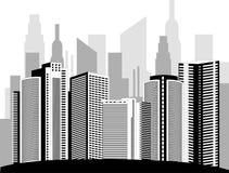 Modern metropolis Royalty Free Stock Photos