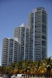 Modern Miami Beach architecture Stock Image