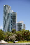 Modern Miami Beach architecture Royalty Free Stock Image