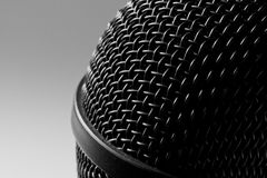 Modern microphone Stock Image