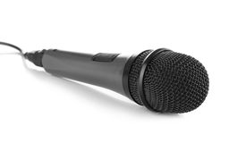Modern microphone royalty free stock image