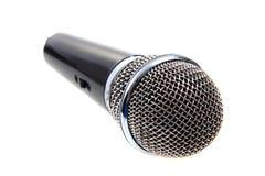 Modern microphone Stock Photo