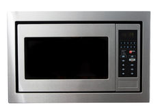 Modern Microwave Oven Stock Photography
