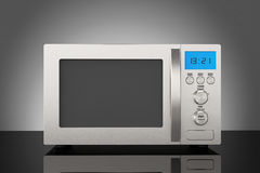 Modern Microwave Oven Royalty Free Stock Photos