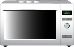 Modern microwave stove Stock Photo