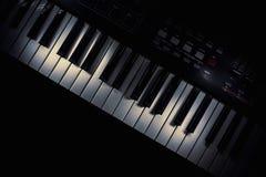Modern Midi Keyboard Controller Royalty Free Stock Photo