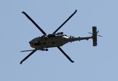 Modern military helicopter Stock Photography