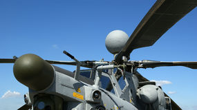 Modern Military Helicopters Closeup Royalty Free Stock Image