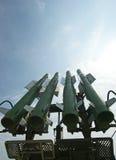 Modern military launched intermediate-range Stock Image