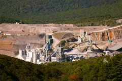 Modern mine I Stock Photography
