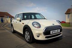 Modern mini car Royalty Free Stock Photo