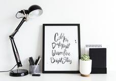 Modern minimal interior design white background Stock Photo