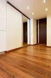 Modern minimalism style corridor interior Stock Image