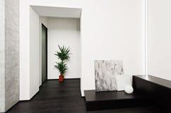 Modern minimalism style hall interior Stock Photography