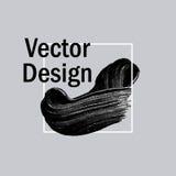 Modern minimalist black art brush painted texture background. Ab Stock Images
