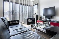 Modern minimalist interior design Royalty Free Stock Photos