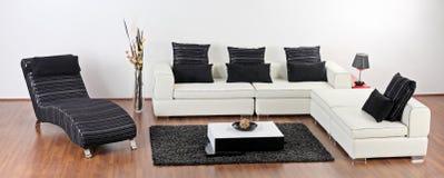 A modern minimalist living room Stock Image
