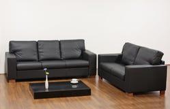 Modern minimalist living room Stock Images