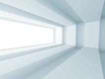 Modern Minimalistic Interior Architecture Design Background Stock Image