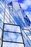 Modern mirror glass skyscraper Stock Photography