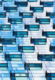 Modern mirrored building facade Royalty Free Stock Image