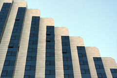Modern mirrored building Royalty Free Stock Photography