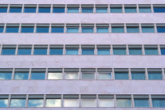 Modern mirrored building Stock Photography