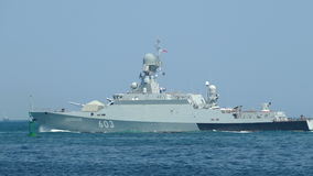 Modern missile boats Russia stock video footage