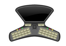 Modern mobiel ontwerp royalty-vrije illustratie