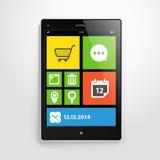 Modern mobile gadget Royalty Free Stock Photo