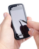 Modern mobile phone Royalty Free Stock Photos