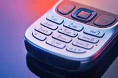 Modern mobile phone Stock Photo