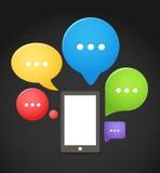 Modern mobile phone Royalty Free Stock Image