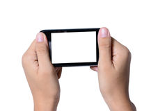 Modern mobile phone Royalty Free Stock Photography