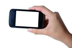 Modern mobile phone Royalty Free Stock Photos