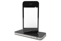 Modern Mobile phones Stock Photos