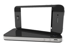 Modern Mobile phones Stock Images