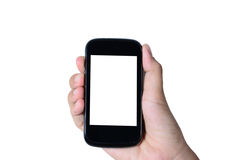 Modern mobiltelefon Arkivfoto