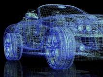 Modern model cars Stock Images