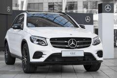 Modern model of prestigious Mercedes-Benz GLC-class SUV crossove Royalty Free Stock Photography