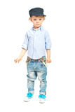 Modern model toddler boy Stock Images