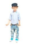 Modern model toddler boy Stock Images