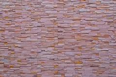modern modellvägg för tegelsten Arkivfoto
